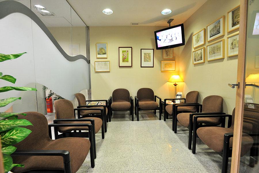 sala de espera clinica noguerol
